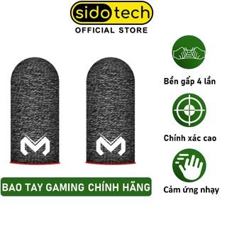 Bao tay chơi game FF chống mồ hôi SIDOTECH Memo Version 2 Finger Sleeve phiên bản găng tay cảm ứng siêu nhạy sợi carbon thumbnail