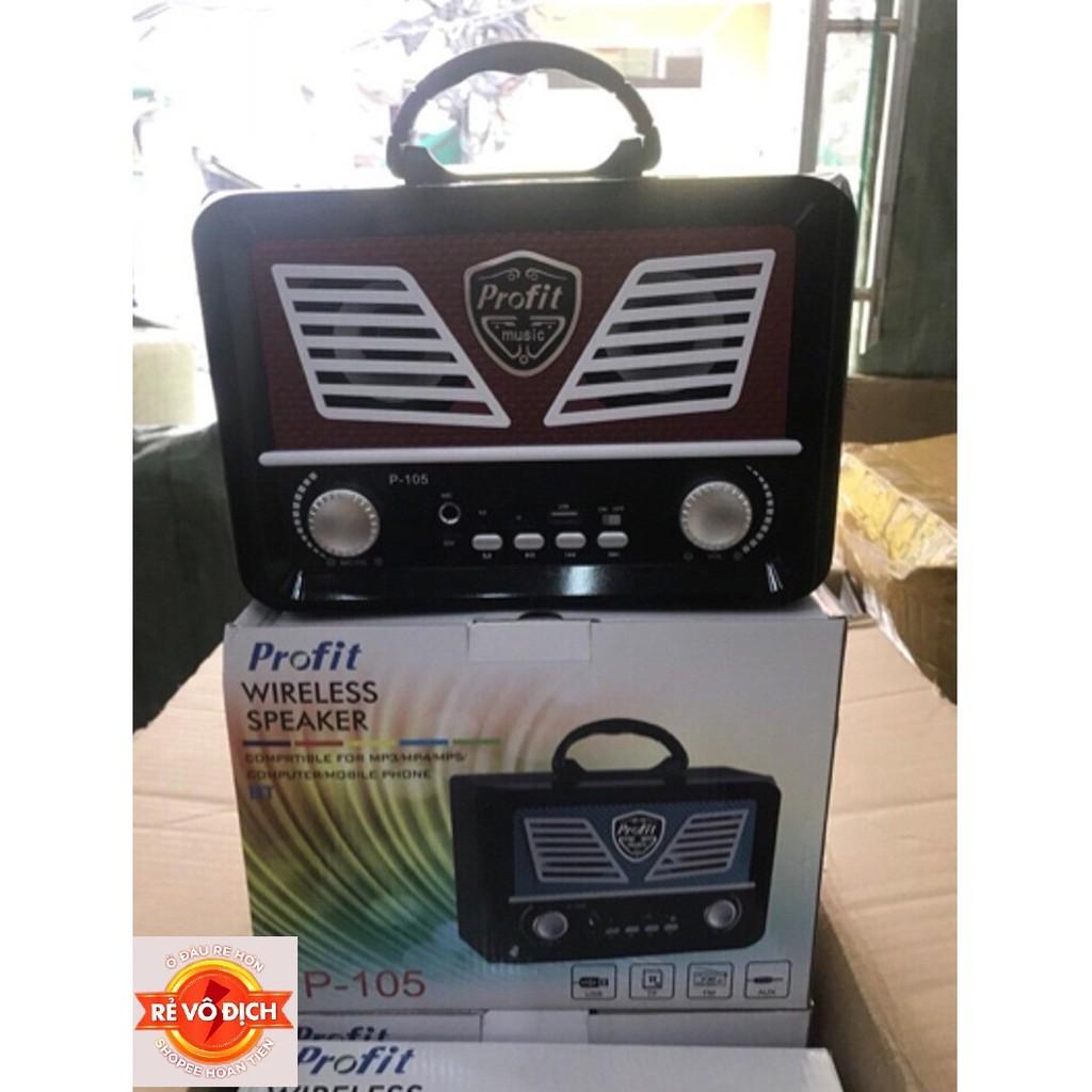 [RẺ VÔ ĐỊCH]loa karaoke Bluetoothp105,106 tặng mic bao hay hỗ trợ 40k ship