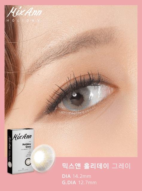 Kính áp tròng Mix Holiday 14.0mm (Sẵn 3 màu) | Hàng nội địa Hàn (Có ảnh thật khách feedback |...