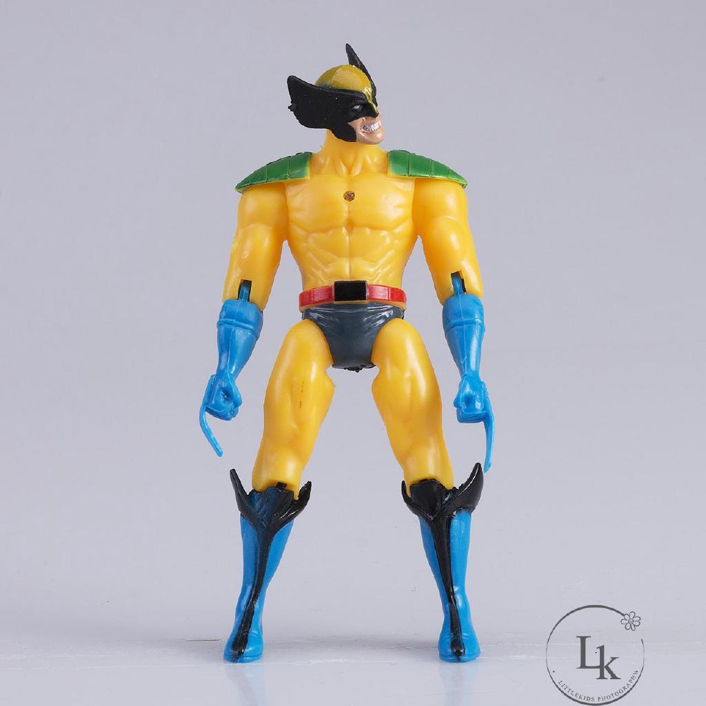 ..T-6 CÁI BỘ The Avengers Hulk + Captain + Wolverine + Batman + Spiderman +