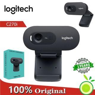 Webcam Logitech c270i tích hợp micro và phụ kiện đi kèm
