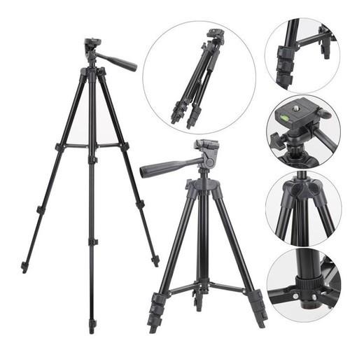 [TẶNG REMMOTE] Chân máy ảnh Tripod 3120 tặng Giá kẹp điện thoại, REMOTE và Túi đựng