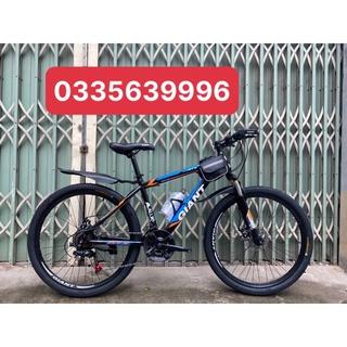 Khuyến mại xe đạp thể thao GIANT vành 26 inch 3 đĩa 7 lip 21 tốc độ dành cho người từ 1m55 đến 1m75 khung thép cực bền thumbnail