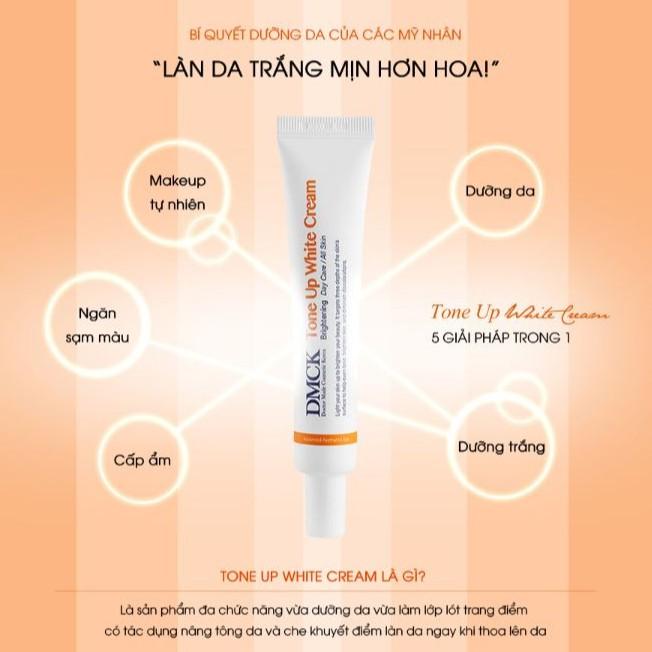 Kem Dưỡng Trắng Nâng Tông Da DMCK Tone Up White Cream 30g | Shopee Việt Nam