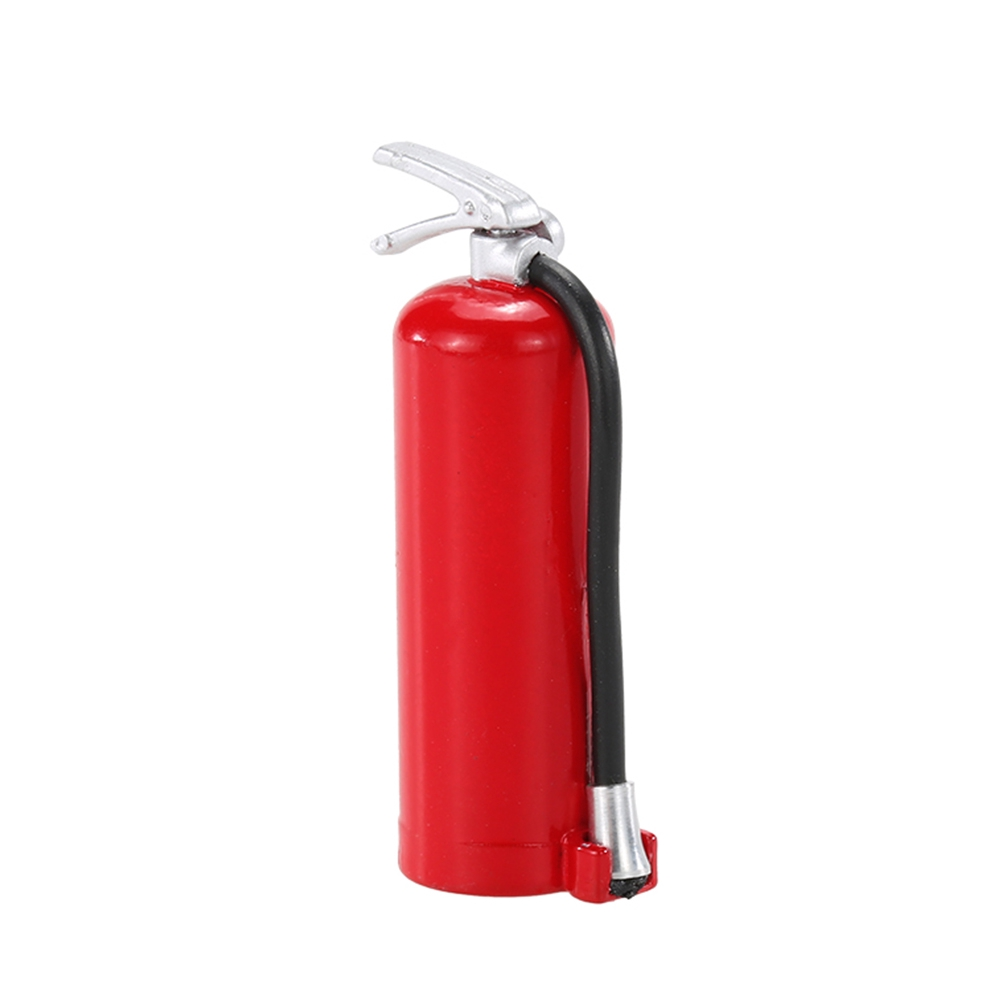 Mini Fire Extinguisher Decoration For 1/10 Simulation Climbing RC Car Accessory
