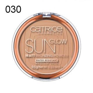 Tạo Khối Catrice Sun Glow Matt Bronzing Powder 9.5g - phấn nâu mẫu mới thumbnail