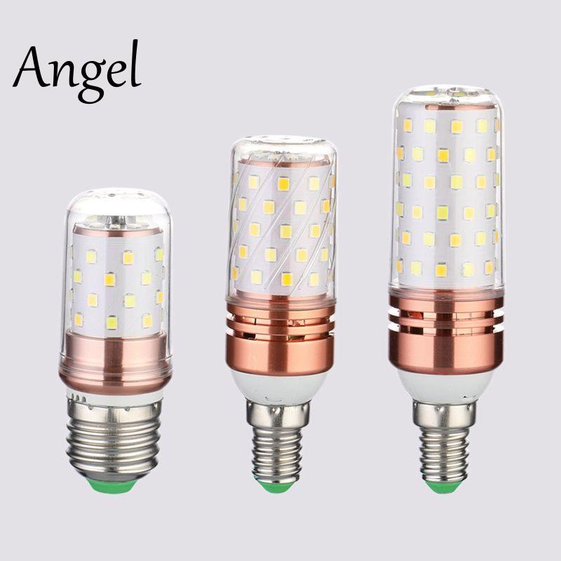 3 Color Temperatures Integrated SMD LED Corn Lamp E27 Warm White 12W