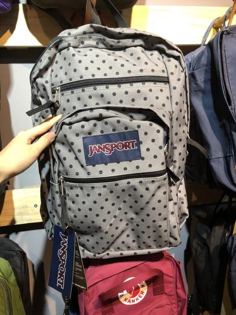 [ HOT ] Balo Jansport Big Student Backpack - Chấm Bi