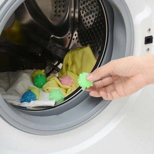 Bóng giặt quần áoo ó gai - Quả cầu gai giặt quần áo