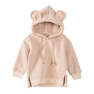 Áo nỉ tai gấu ấm áp, dễ thương dành cho bé