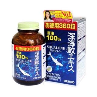 Sụn vi cá mập Squalene Orihiro bổ xương khớp Nhật Bản