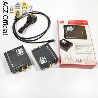 [Mã ELFLASH5 giảm 20K đơn 50K] Bộ chuyển đổi âm thanh quang khuếch đại XL2 - BH 12 tháng