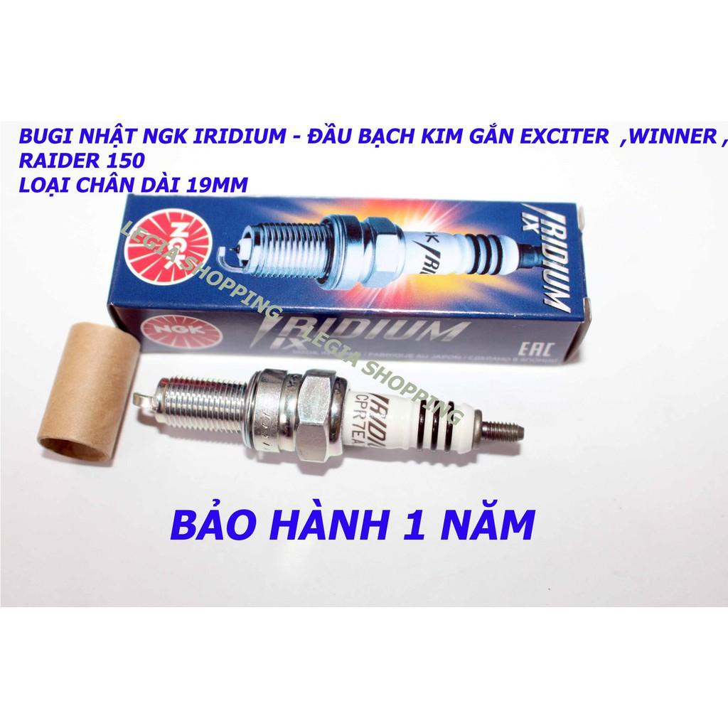 BUGI NGK IRIDIUM CPR7EAIX-9 CHÂN DÀI GẮN Winner, Raider 150 Fi, Ex135/150, Sonic 125/150, CBR150, CBR150Fi Wave S110