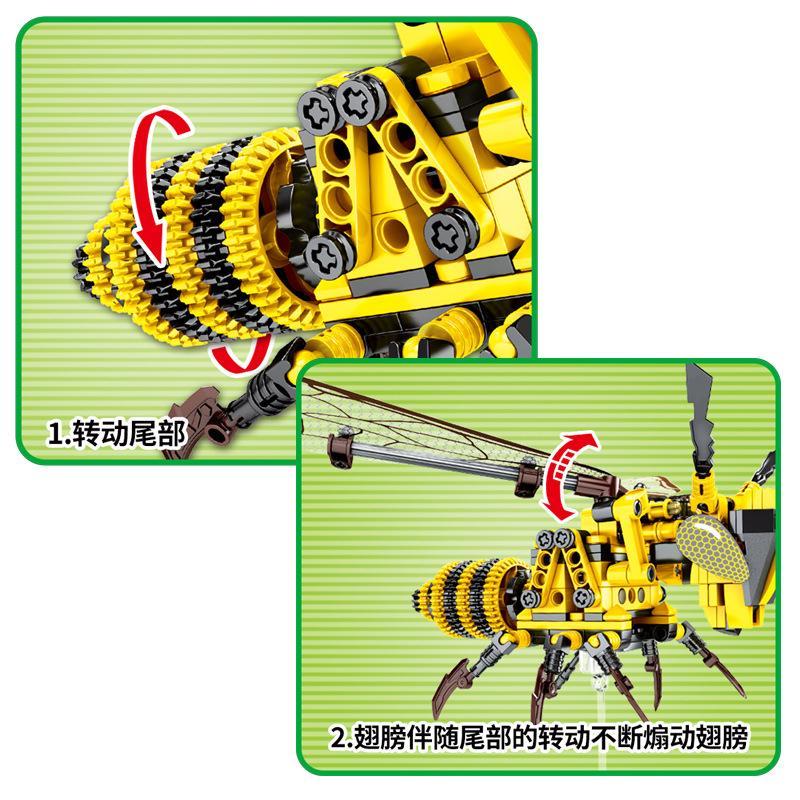 Khối Xây Dựng Bumblebee Tương Thích With _ LEGO _ Tự Làm Xây Dựng Đồ Chơi