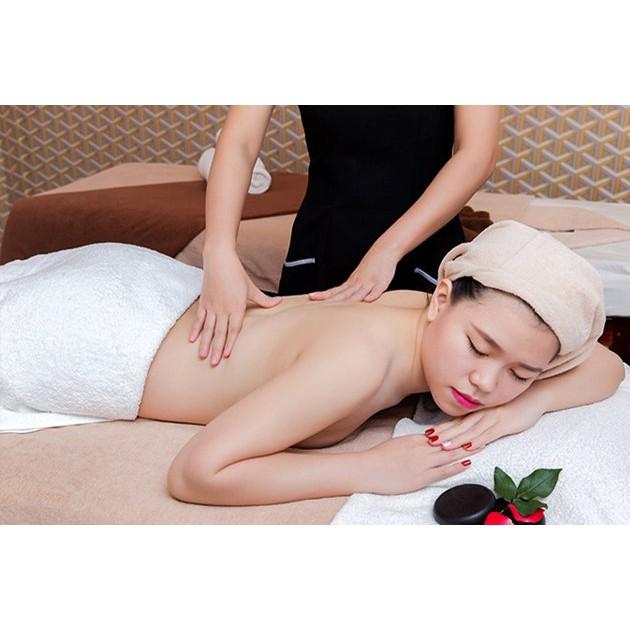 HCM [Voucher giấy] - Liệu trình 100 phút Massage Body + Massage Foot + Ngâm Chân + Đắp mặt nạ tại Paradise Spa