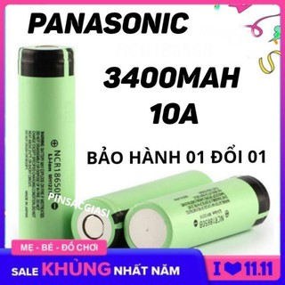 Pin 18650 3400mah Panasonic JAPAN