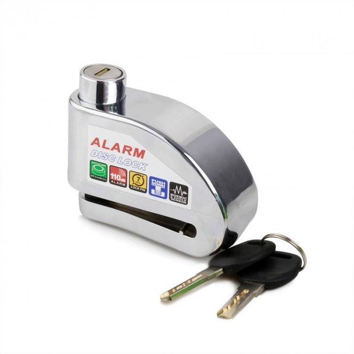 Ổ khóa đĩa xe máy chống trộm - Ổ khóa chống trộm xe máy có còi báo động