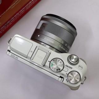 Máy ảnh Canon M3 kit 15-45mm 🔸 Màu trắng🔸 mới 99%