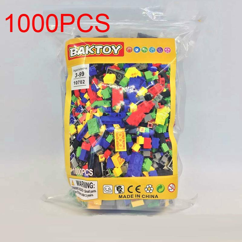 1000Pcs BAKTOY 10702 DIY Building Block Bulk Model Brick Compatible Lego Classic Toys