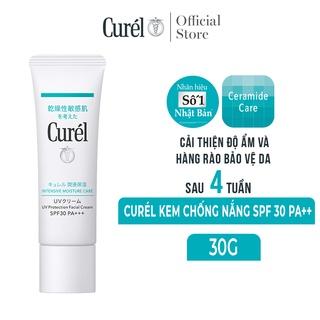 Curél UV kem chống nắng UV Protection Face Cream SPF 30 PA++ 30g thumbnail