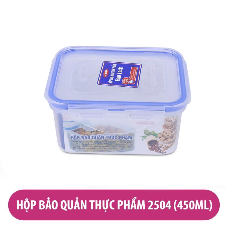 Hộp bảo quản thực phẩm Four Lock 2504 450ml