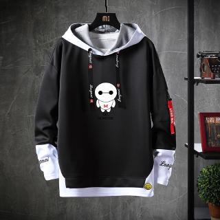 Áo hoodie màu đen in chữ cá tính ấn tượng cho nam