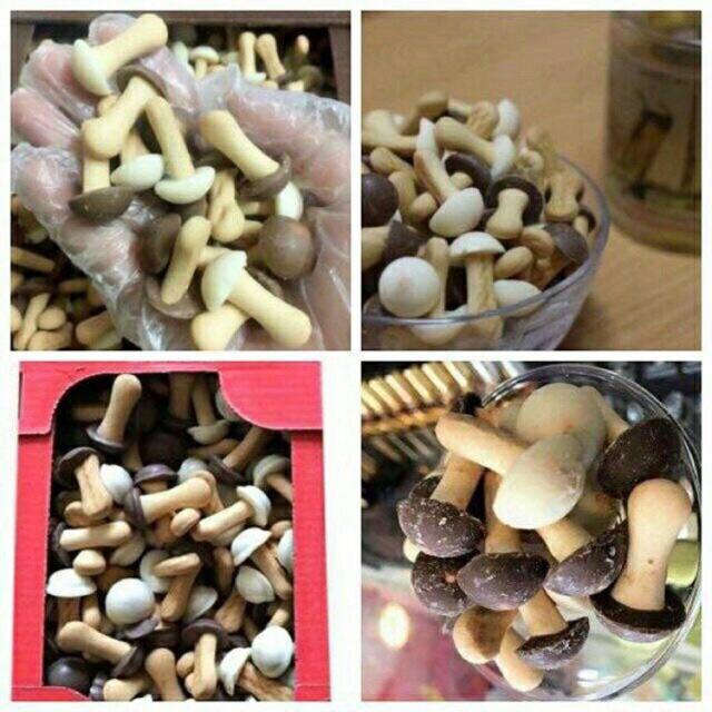 Bánh nấm socola Nga 300gr nhập khẩu