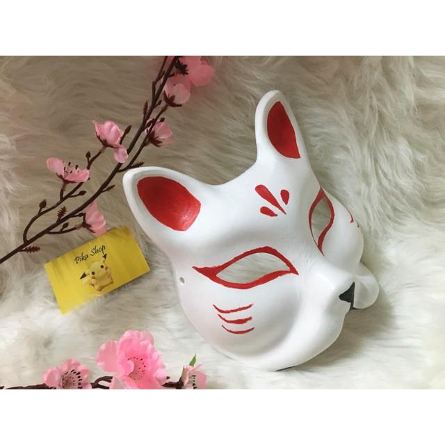 M02 Kitsune mask - mặt nạ cáo xả lỗ nghỉ MS8395