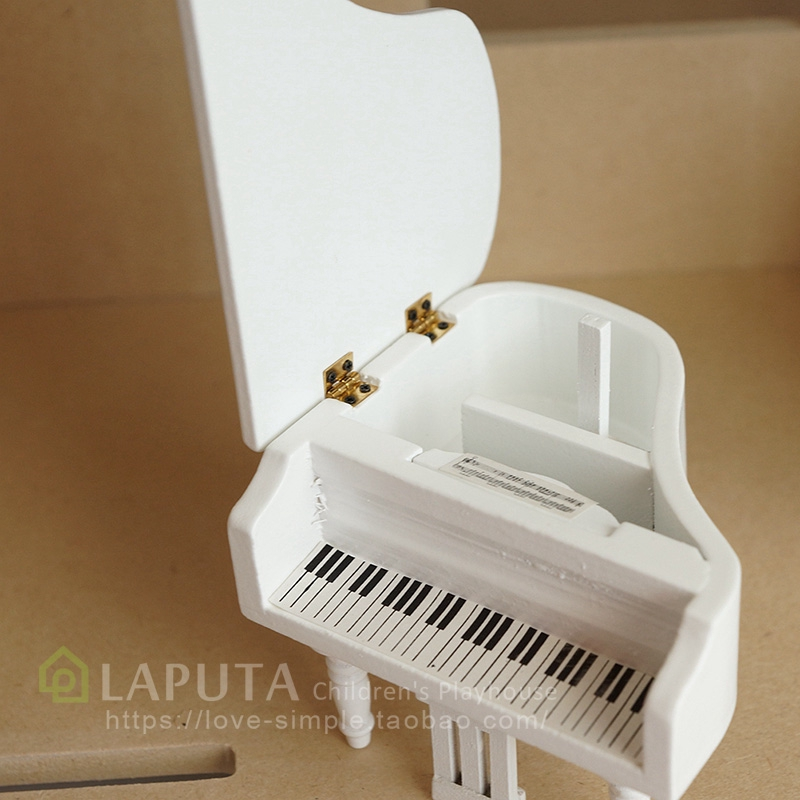 Mô Hình Đàn Piano Tỉ Lệ 1: 12 Trang Trí Nhà Búp Bê