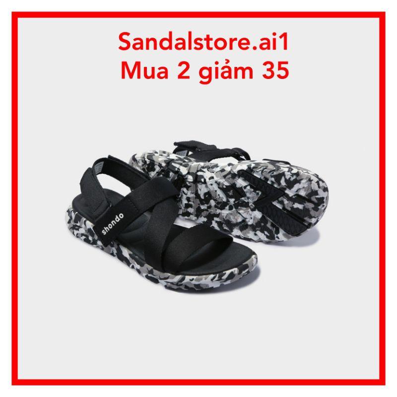 {SALE} GIÀY SANDAL SHAT-SHONDO F6 SPORT CAMO ĐEN