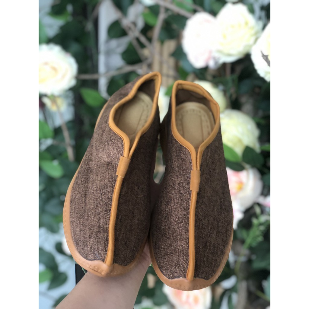 giày cư sĩ - giày vải 196