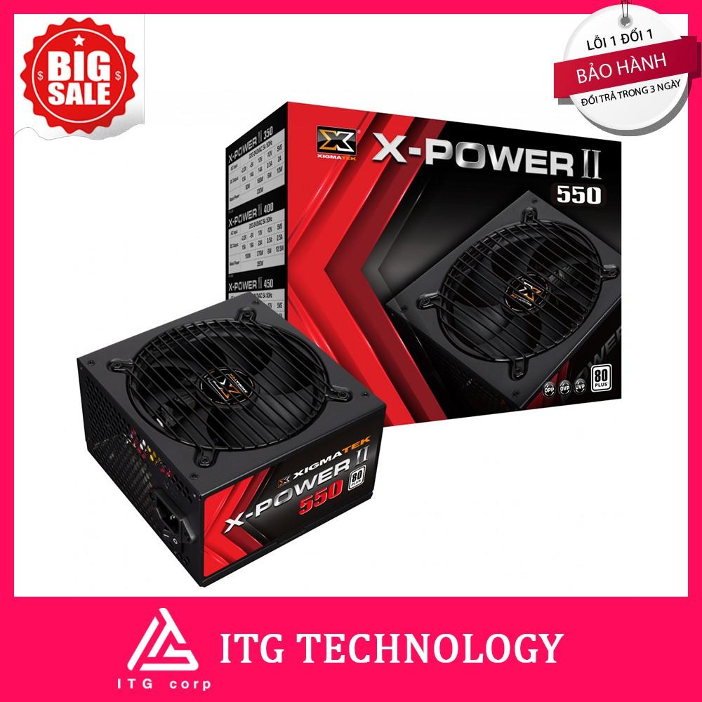 Nguồn máy tính XIGMATEK X-POWER II 550 80PLUS (500W)
