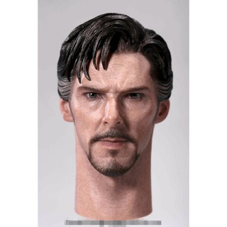 "1:6 Scale Doctor Strange Benedict Cumberbatch Head Sculpt Fit 12"" Male Figures"