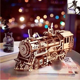 Mô hình Cơ động học – Đầu máy xe lửa (Locomotive Robotime)
