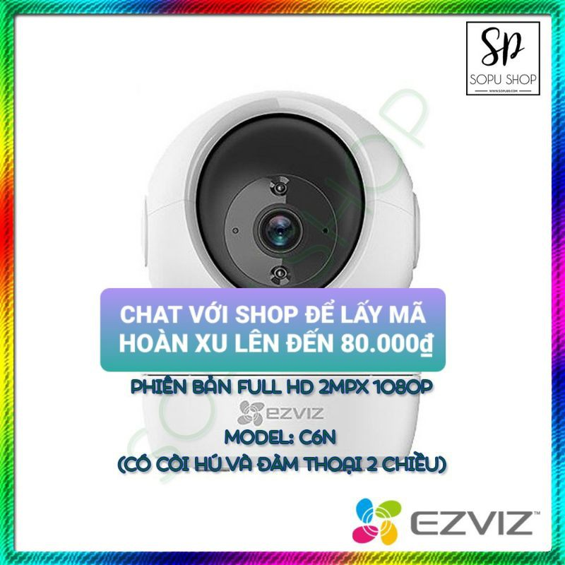 CAMERA WIFI EZVIZ C6N FULL HD 1080P CS CV-246 ( 2.0MP ), camera C3N, camera C3WN, camera C3W