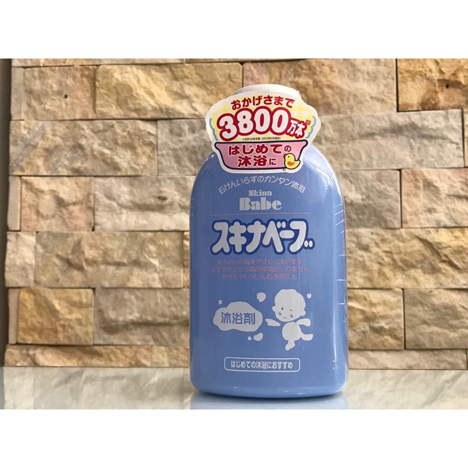 Sữa tắm skina babe trị rôm sẩy