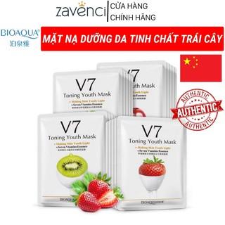 Mặt Nạ Hoa Qủa BIOAQUA V7 Toning Youth Mask Chăm Sóc Da - NKTG Store thumbnail
