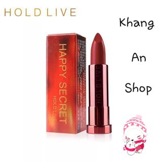 HOLDLIVE - Son thỏi Red Maple Velvet Lipstick Happy Secret (phiên bản lá phong đỏ) thumbnail