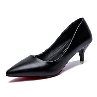 XẢ HÀNG TẠI XƯỞNG SX Giày cao gót da trơn mũi nhọn cao 5cm-7cm siêu đẹp, đi cực ôm chân.