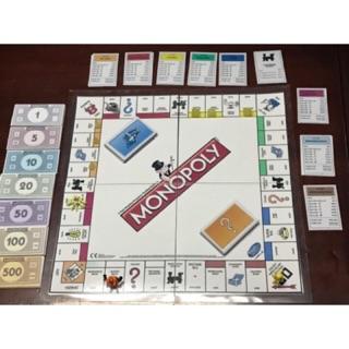 Cờ tỷ phú Monopoly đã ép plastic