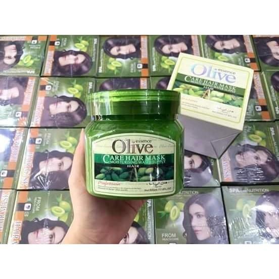 Kem Hấp Dầu mặt nạ kem Ủ Tóc Olive essence Care Hair Mask   Shopee Việt Nam