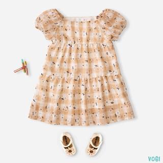 Váy Cho Bé Gái 2 Lớp Chất Liệu Tơ Hàn Thời Trang Bello Land thumbnail