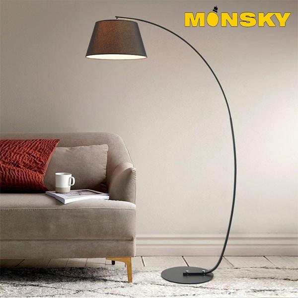 Đèn đứng MONSKY để sàn cao cấp phòng khách ROSE DC9002 - Kèm bóng LED cao cấp