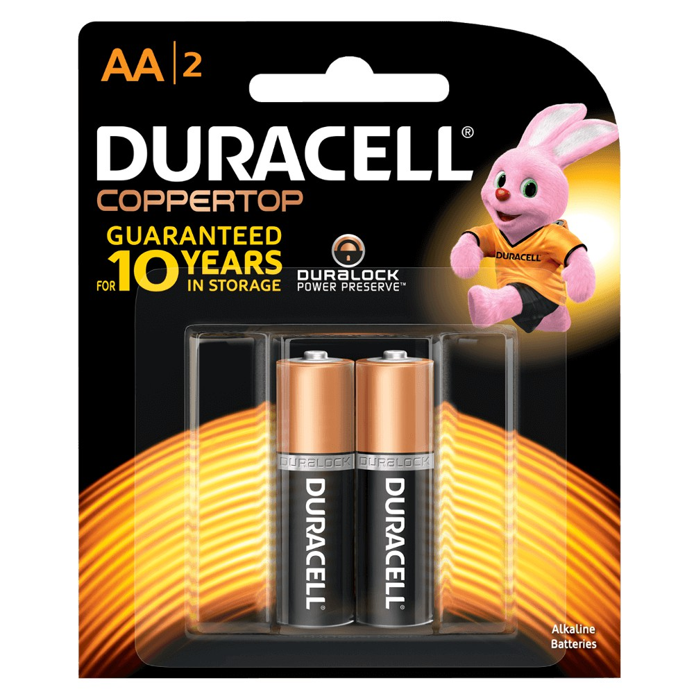 Pin Duracell MN1500- LR6 AA2 Akaline