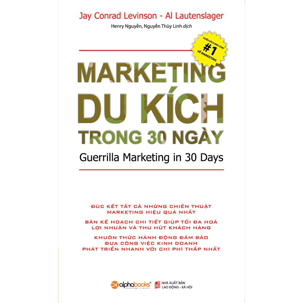 Sách - Marketing du kích trong 30 ngày