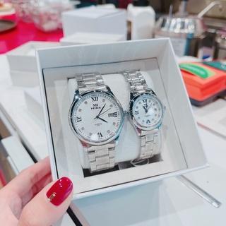 Đồng hồ nam và nữ MIKE dây thép nhiều màu thumbnail