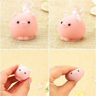 Mochi Cute Pig Ball Squishy Squeeze Healing Fun Toy Gift Relieve Anxiety Decor