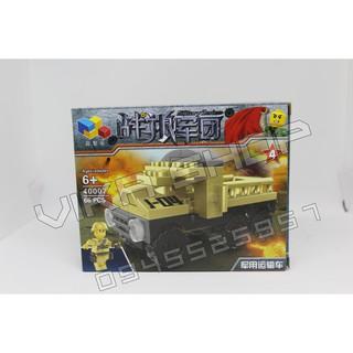 Bộ xếp hình lego quân đội QD8-3