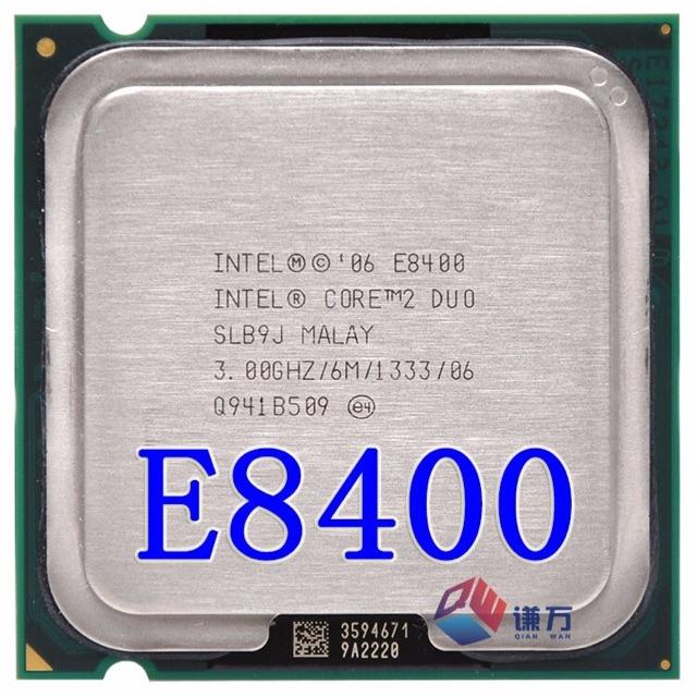 Cpu E8400 ( tặng keo tản nhiệt) cũ dành cho main G31,G41