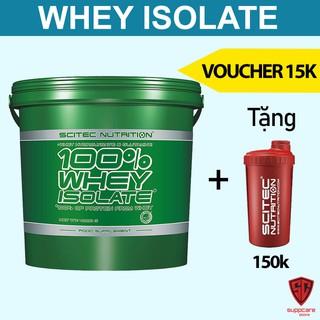 Whey Whey Protein Isolate Scitec - Sữa Tăng Cơ Không Tăng Mỡ 4kg - Chính Hãng - SUPPCARE thumbnail